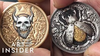 Coins Have Hidden Booby Traps And Secret Levers