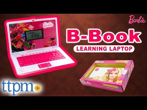 Barbie B-Book Learning Laptop from Oregon Scientific