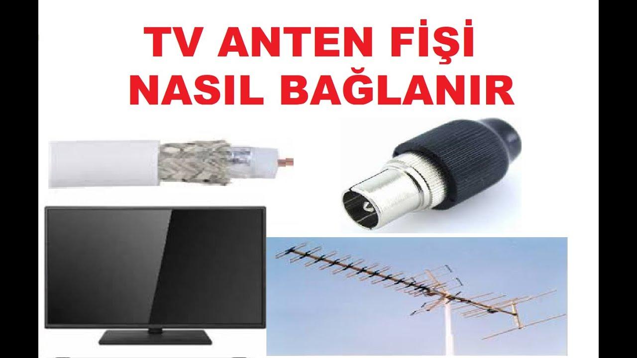 Televizyon Kablosu Nasıl Bağlanır