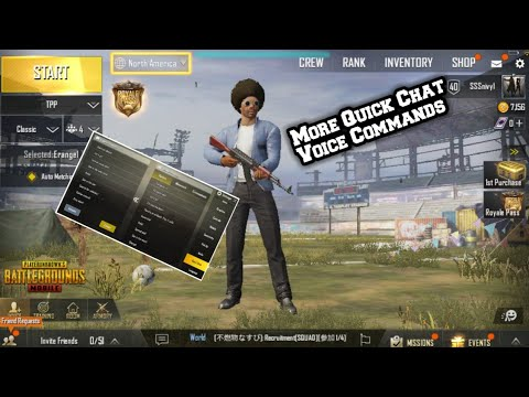 68c9b9af882 How To Get More Quick Chat Voice Commands In Pubg Mobile - YouTube