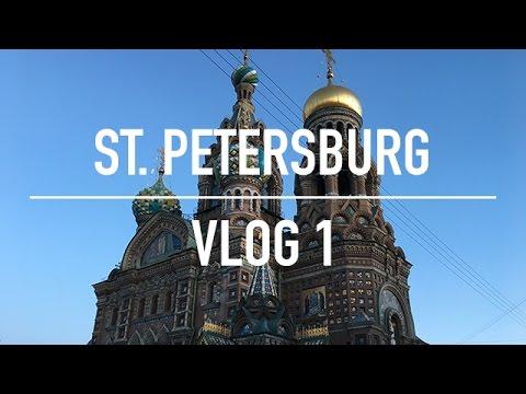ST. PETERSBURG VLOG 1 (17/05/17)