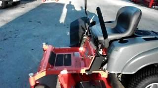 54 husqvarna zero turn lawn mower with 24 hp kohler engine