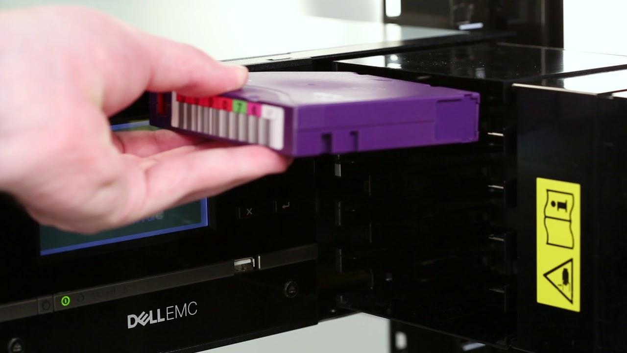 Dell Storage ML3: Magazine Eject