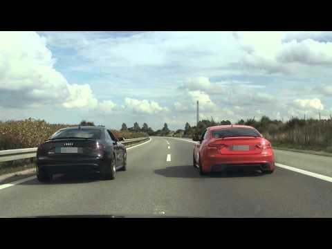 Audi RS5 4,2 V8 443,4 Ps / 465,0 Nm vs. Audi A5 3,0 TDi 422,1 Ps / 869,4 Nm (BROO Performance)
