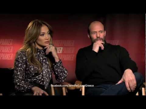 Jennifer Lopez & Jason Statham talks 'Parker' Movie, Idol & Gun Control HD