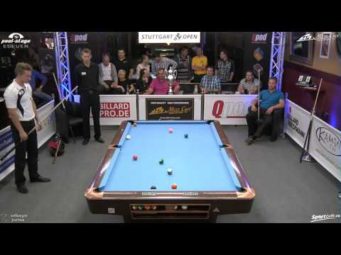 Stuttgart Open 2013, 19 Dominic Jentsch vs Stefan Nölle, 10-Ball, Pool-Billard, Cue Sports