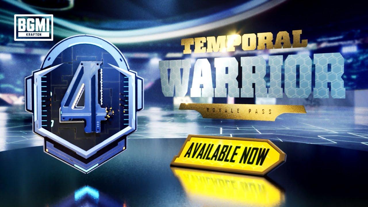 BGMI | Royale Pass Month 4: Temporal Warrior