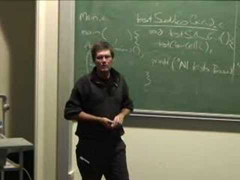 Lecture 24: eXtreme Programming - Richard Buckland
