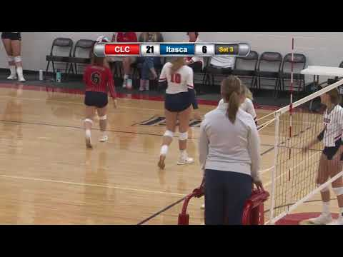 Central Lakes College Volleyball vs. Itasca Community College 9/4/2019
