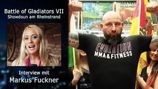 Markus Fuckner - Interview zur Battle VII beim öffentlichen Wiegen