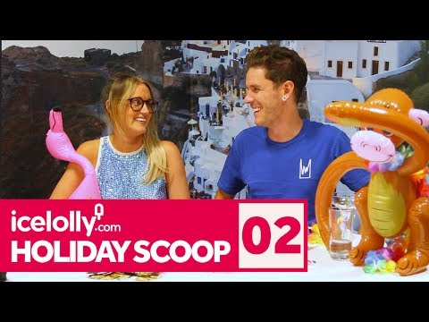 Holiday Scoop 2: Turkey Travel Advice & Pool Float Challenge