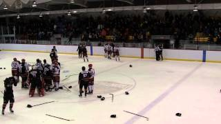 Vidéo de la mêlée générale Dynamik de Coaticook vs HockeyProfil de Sherbrooke