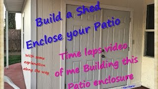 How to build a shed by