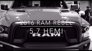 2016 RAM Rebel Hemi Test Drive and Overview