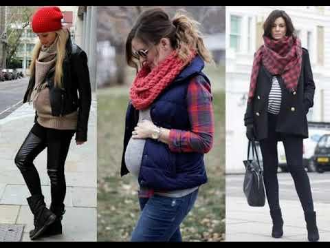 OUTFITS 2018 - Ropa de moda para embarazadas - YouTube