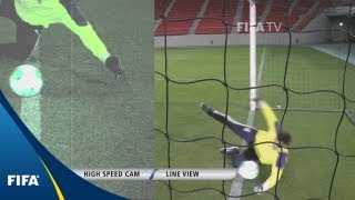 Goal-line technology: What the eye can see