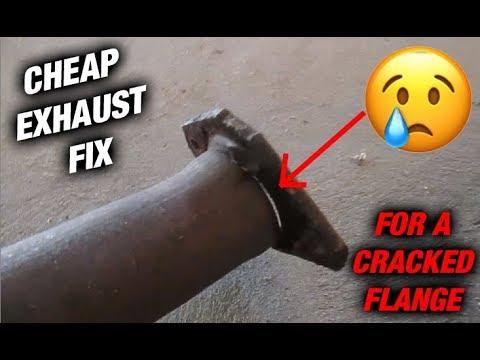 how to fix exhaust leak