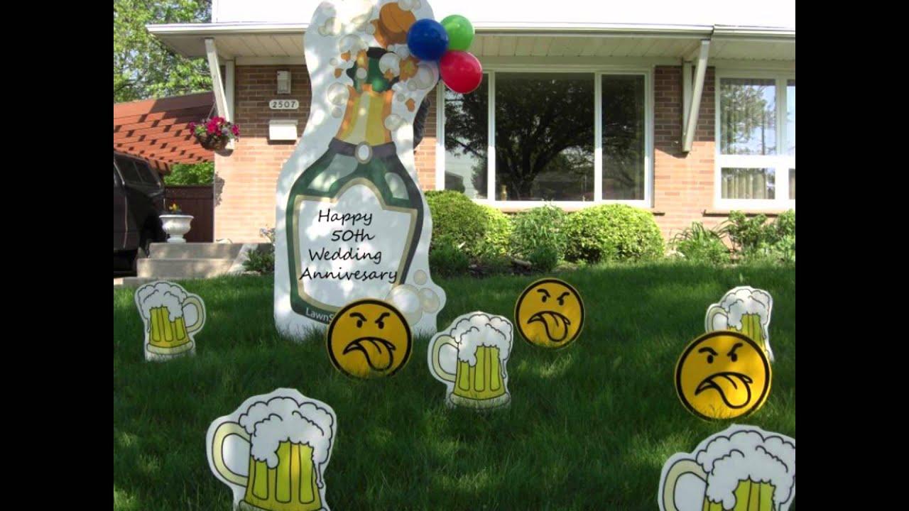 Birthday Lawn Signs