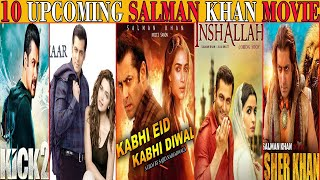 SALMAN KHAN Upcoming Movies 2020 - 2022 | With Release Date, Budget & More | The Topic