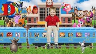 Метро мультик для детей. Metro cartoon for children.