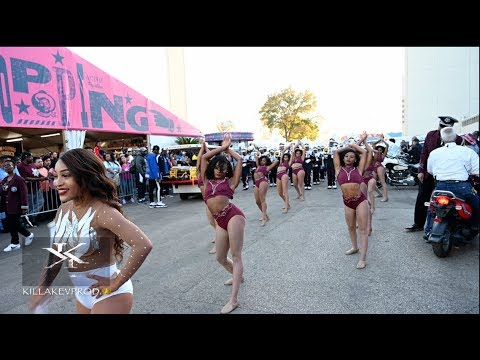 Texas Southern University - Marching Out Vs SU @ The 2019 State Fair Showdown
