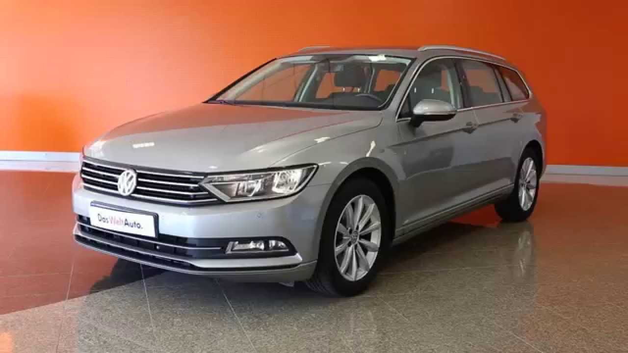 volkswagen passat sw 2 0 tdi 150 bluemotion technology confortline gris tungstene m tal 21161. Black Bedroom Furniture Sets. Home Design Ideas
