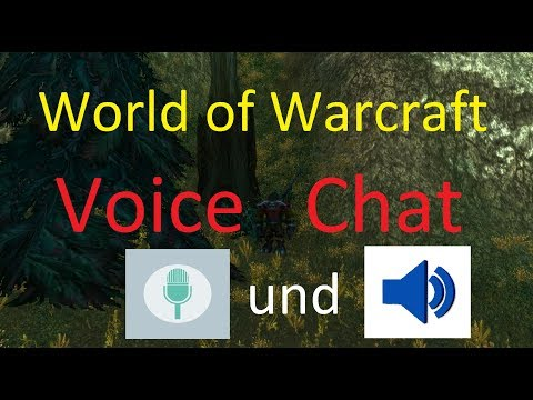 World Of Warcraft Voice Chat Einrichten Benutzen