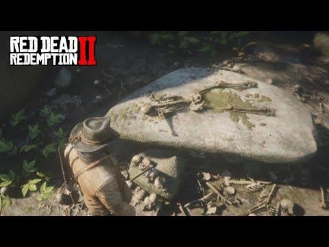 Tumba antigua y hombre lobo - Red Dead Redemption 2 - Jeshua Games