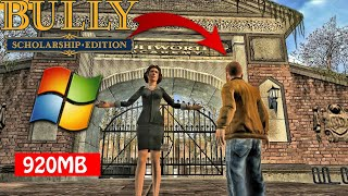 Bully Scholarship Edition PC Highly Compressed Download