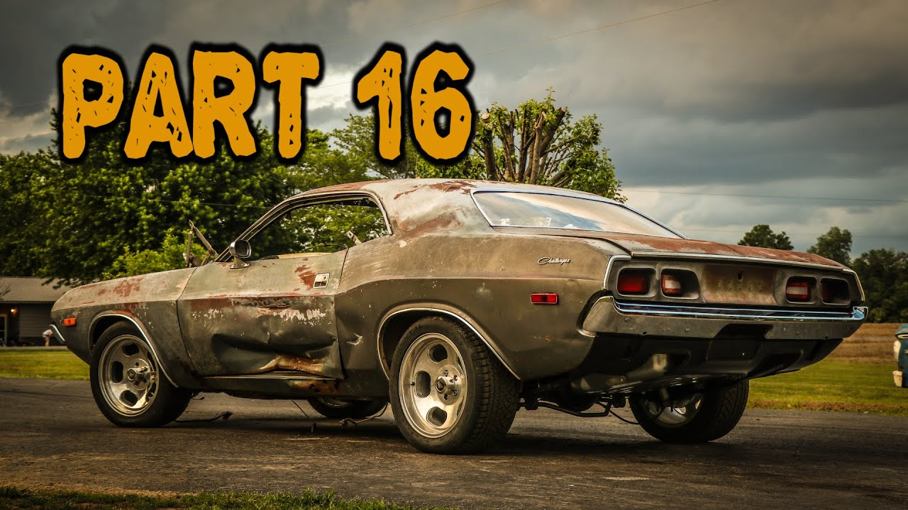ABANDONED Dodge Challenger Rescued After 35 Years Part 16: Exterior Upgrades!