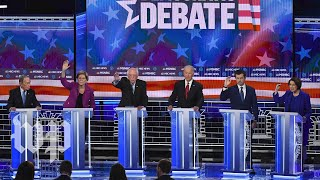 The Nevada Democratic debate in less than 4 minutes