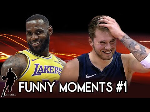 Most Funny NBA Bloopers - 2019/2020 Part 1