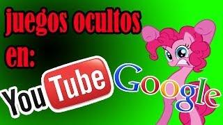 Los juegos ocultos en google y youtube