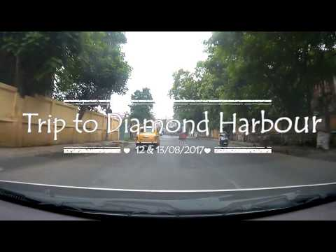 Road Trip from Kolkata to Diamond Harbour and back | 12 & 13/8/2017