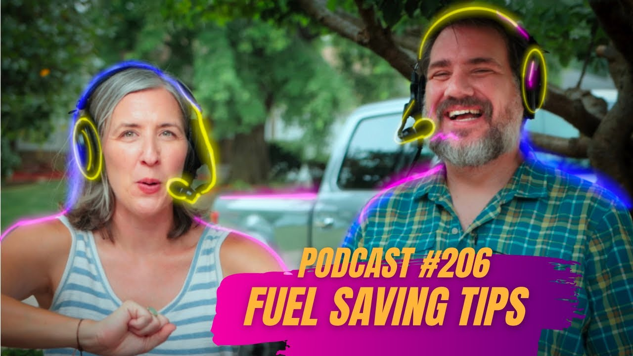 Download Fuel Saving Tips, Where to Begin Finding the Right RV, and more   RV Miles Podcast Episode 206