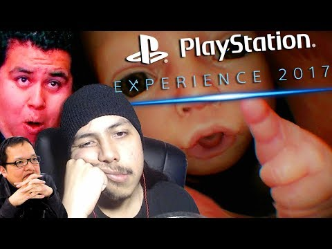 The Worst Of...Playstation Experience 2017 - Live Reaction W/ Facecam!