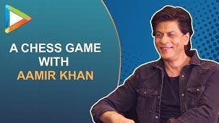"Shah Rukh Khan: ""Aamir Khan Post Dinner Can I Sit Down You & Play Chess?"""
