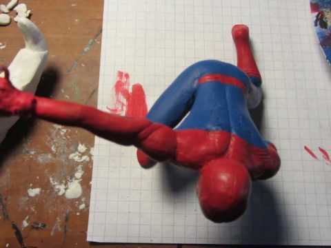 Sculpting Civil War Spider-Man (MCU)