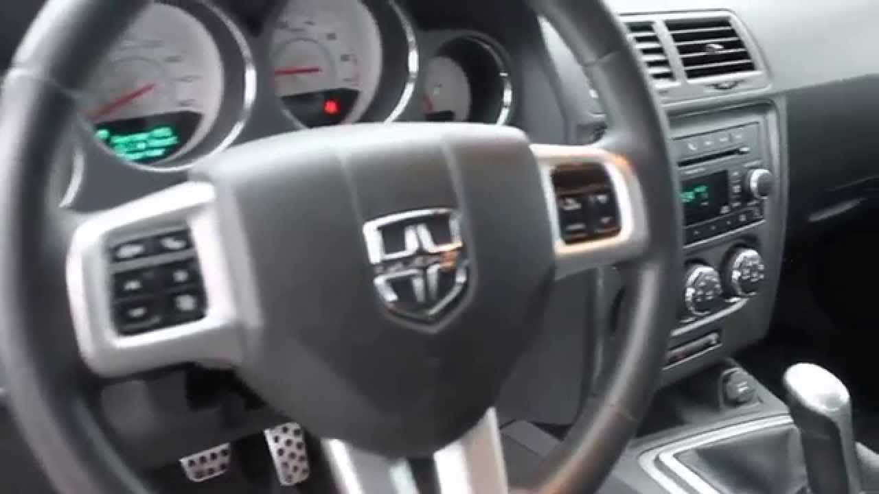 2011 Dodge Challenger Red Red Stock B2864b Interior Youtube