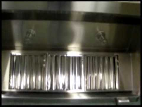 commercial kitchen hood industrial island restaurant exhaust hoods - hoodmart youtube