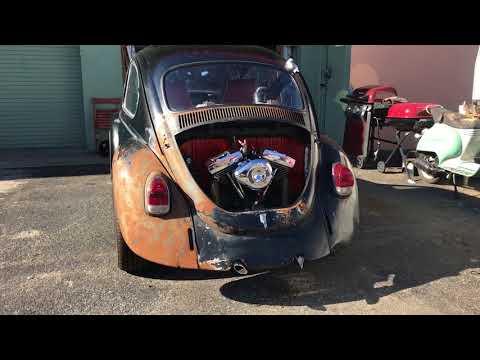 1968 Volkswagen beetle powered by Harley Davidson engine! VW-HARLEY