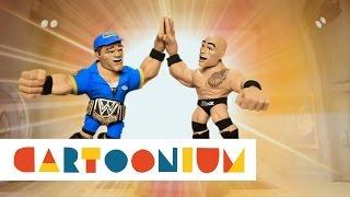 John Cena & The Rock - Finale: Part Two- WWE Slam City