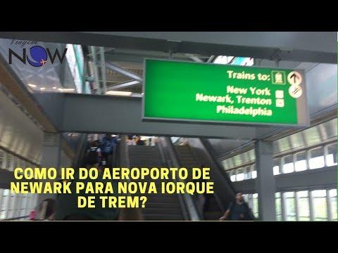 COMO IR DO AEROPORTO DE NEWARK PARA NOVA IORQUE DE TREM