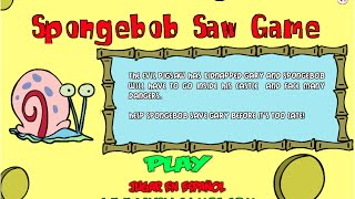 Spongebob Saw Game