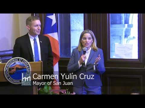 Mayor Carmen Yulin Cruz Receives the Key to the City