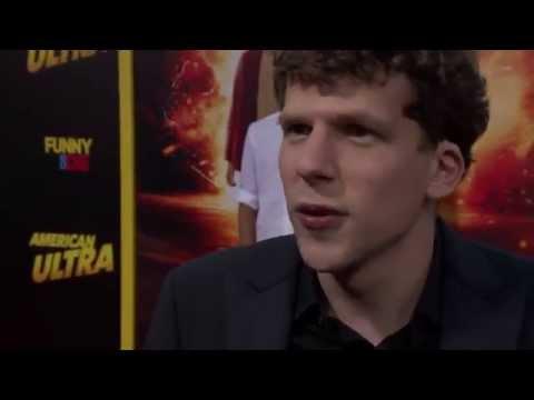 American Ultra: Jesse Eisenberg Red Carpet Movie Premiere Interview