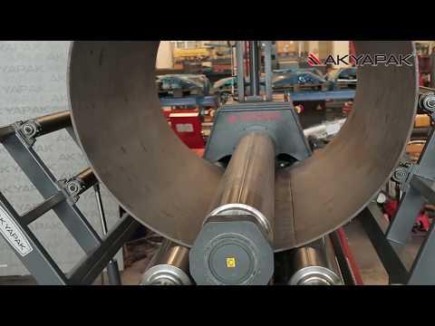 Akyapak Multi Section Pipe&Vessel Production Line / Çok Parçalı Boru & Tank Üretim Hattı