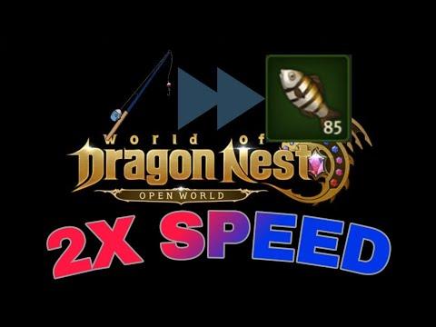 World Of Dragon Nest - Fishing Bug 2020!