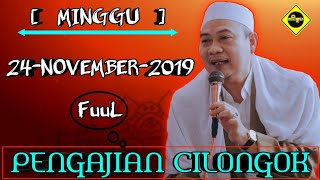 Download lagu PENGAJIAN CILONGOK - 24-November-2019 | FULL VIDIO!
