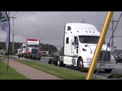 Special Olympics Nova Scotia Truck Convoy 2015